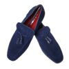 Azor Navy Blue Loafer Shoe