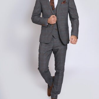 Marc Darcy - Jenson Grey 3 Piece Suit