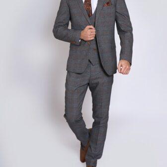 Marc Darcy - Jenson Grey 3 Piece Suit
