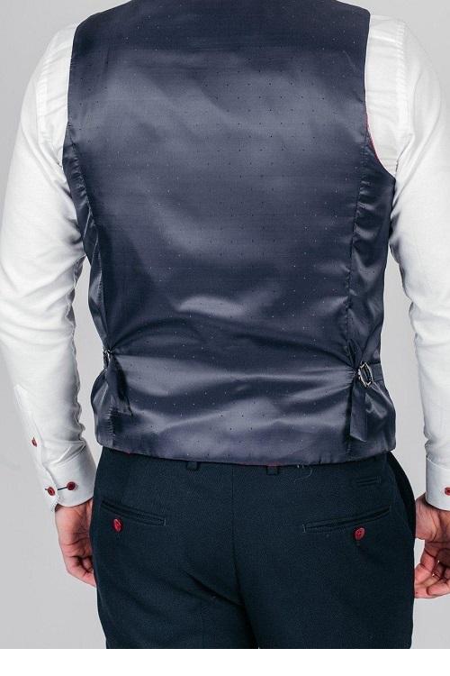 Marc Darcy - JD4 Navy Waistcoat