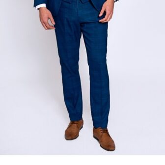 Marc Darcy - Jerry Blue Check Trouser