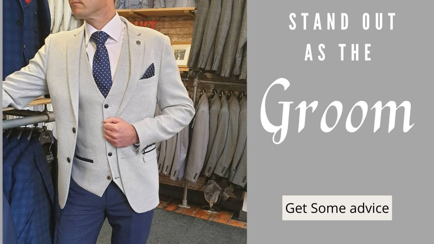 Stand out as the groom