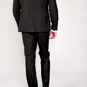 Marc Darcy Danny Black 3 Piece Suit