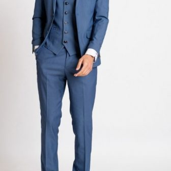 Marc Darcy Danny Sky Blue 3 Piece Suit