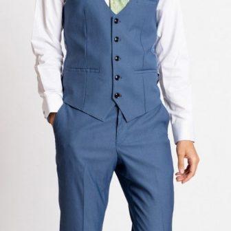 Marc Darcy Danny Sky Blue Waistcoat