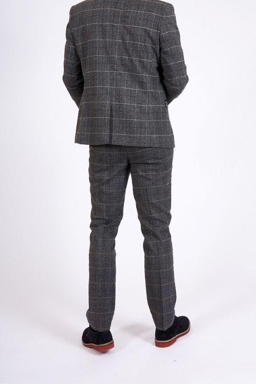 Marc Darcy Scott Grey 3 Piece Suit (1)