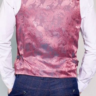 Marc Darcy - Kelvin Pink Waistcoat